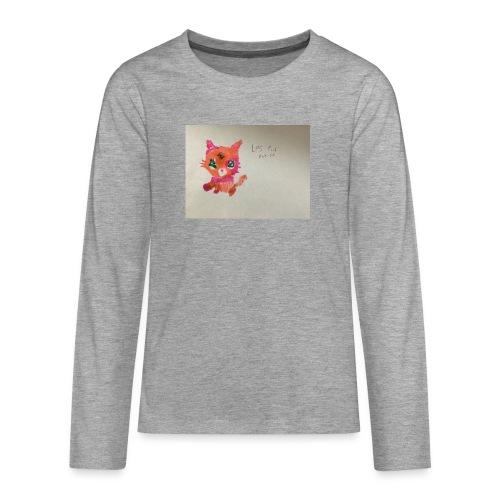 Little pet shop fox cat - Teenagers' Premium Longsleeve Shirt