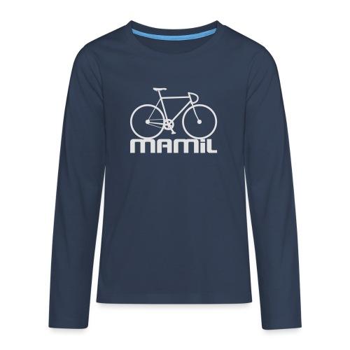MAMiL Water bottle - Teenagers' Premium Longsleeve Shirt