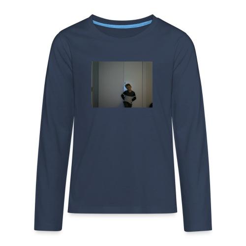 LB GAMING bild - Långärmad premium T-shirt tonåring
