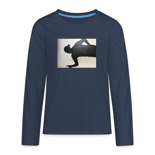 Zlatan - Långärmad premium T-shirt tonåring