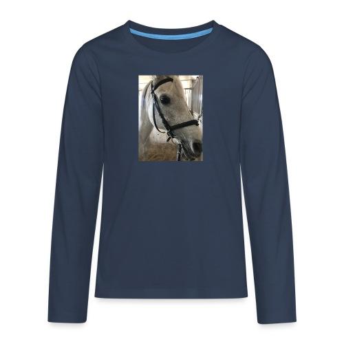 9AF36D46 95C1 4E6C 8DAC 5943A5A0879D - Premium langermet T-skjorte for tenåringer