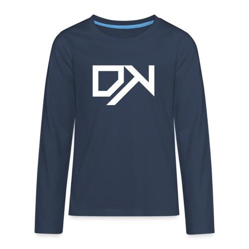 DewKee Logo Mug White - Teenagers' Premium Longsleeve Shirt
