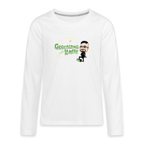 Geocaching With Lampay - T-shirt manches longues Premium Ado