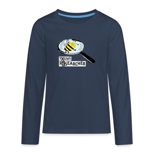 Young Researcher Bee - Teenager Premium Langarmshirt