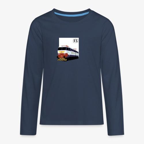 FS E 656 Caimano - Maglietta Premium a manica lunga per teenager