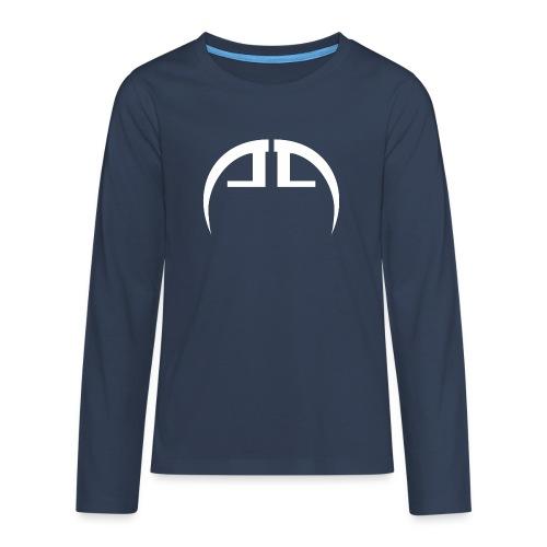 halb weiss - Teenager Premium Langarmshirt