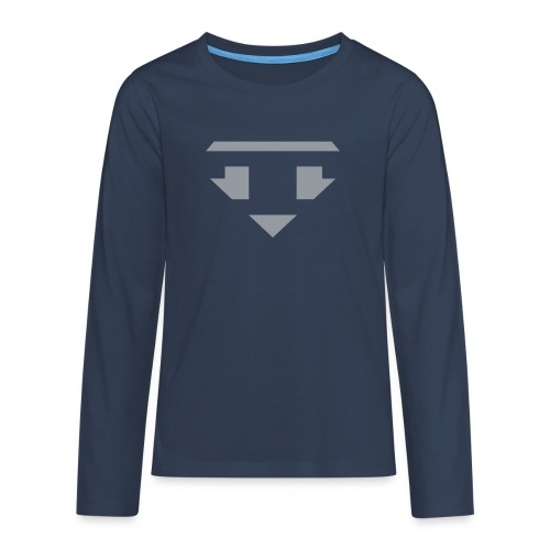 Twanneman logo Reverse - Teenager Premium shirt met lange mouwen