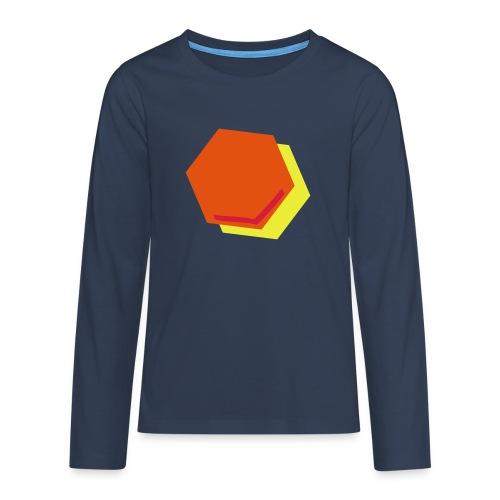 detail2 - Teenager Premium shirt met lange mouwen