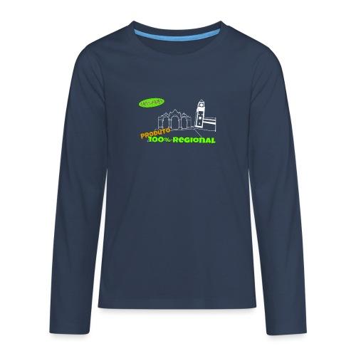 Dark City Gates - Teenagers' Premium Longsleeve Shirt