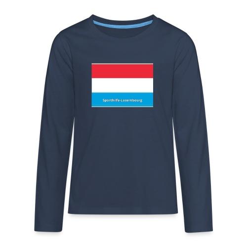 pf 1526995700 - T-shirt manches longues Premium Ado