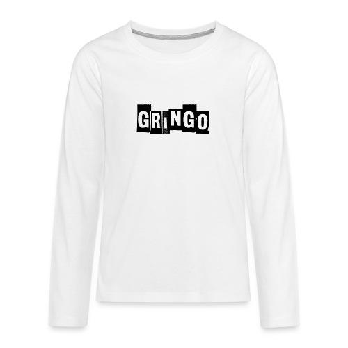 Cartel Gangster pablo gringo mexico tshirt - Teenagers' Premium Longsleeve Shirt