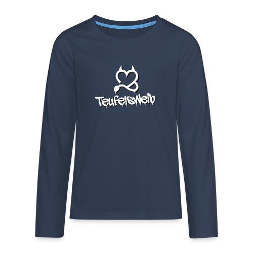 Teufelsweib - Teenager Premium Langarmshirt