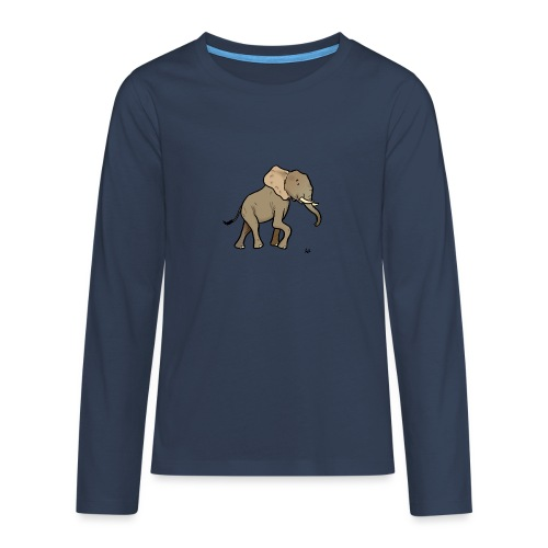 African elephant - Teenagers' Premium Longsleeve Shirt