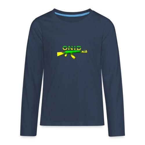 ONID-22 - Maglietta Premium a manica lunga per teenager