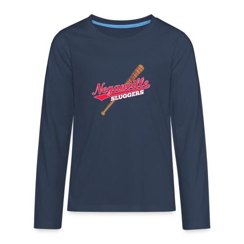 Neganville Sluggers - Teenagers' Premium Longsleeve Shirt