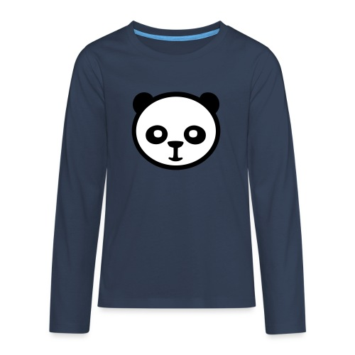 Panda, panda géant, panda géant, ours en bambou - T-shirt manches longues Premium Ado