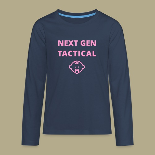 Tactical Baby Girl - Teenager Premium shirt met lange mouwen