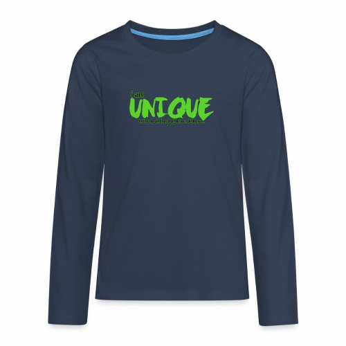 Unique - Teenager Premium shirt met lange mouwen
