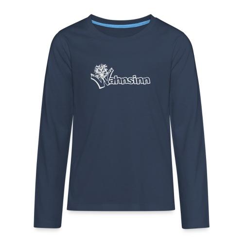 Wahnsinn Logo - Teenager Premium shirt met lange mouwen