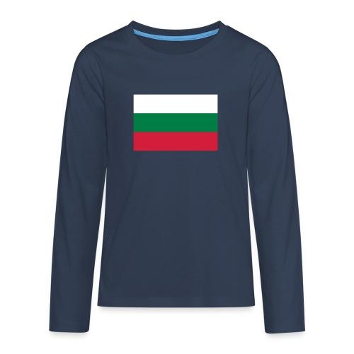 Bulgaria - Teenager Premium shirt met lange mouwen