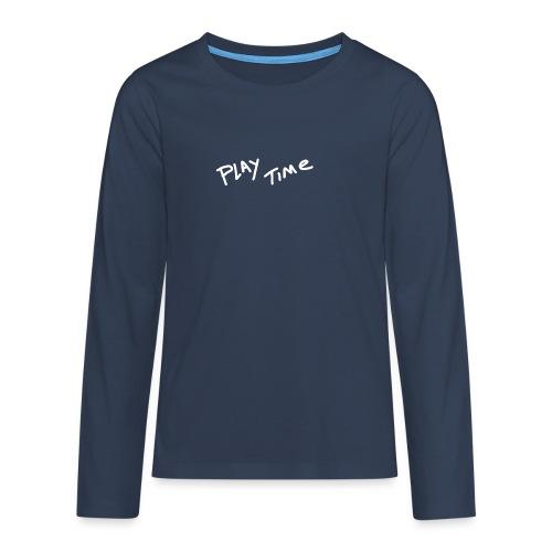 Play Time Tshirt - Teenagers' Premium Longsleeve Shirt