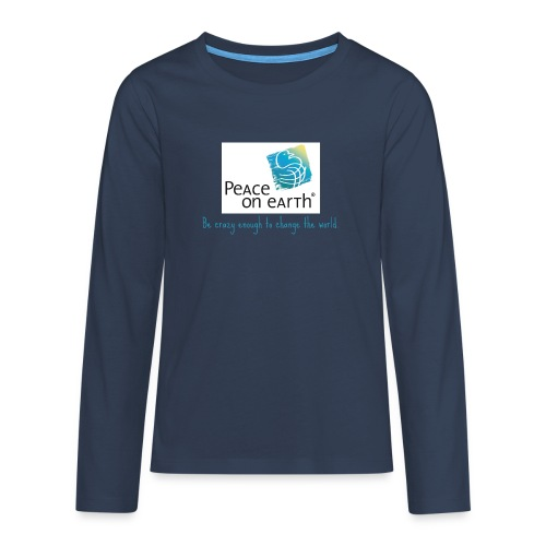 becrazy1 - Teenager Premium Langarmshirt