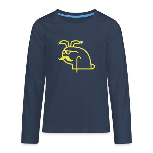 Pangbunny - Premium langermet T-skjorte for tenåringer