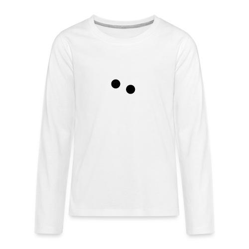 silly eyes - Teenager Premium shirt met lange mouwen