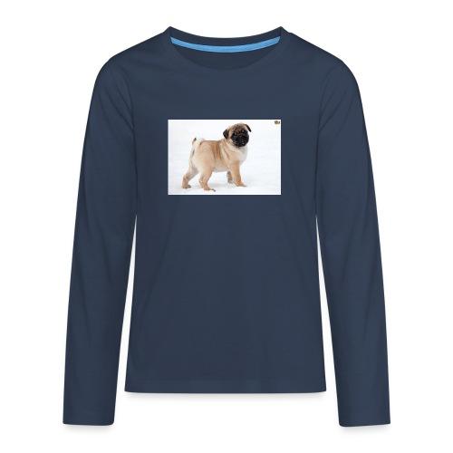 walker family pug merch - Teenagers' Premium Longsleeve Shirt