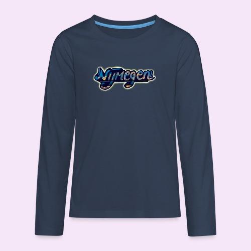 Nijmegen brug - Teenager Premium shirt met lange mouwen