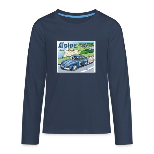 Polete en Alpine 106 - T-shirt manches longues Premium Ado