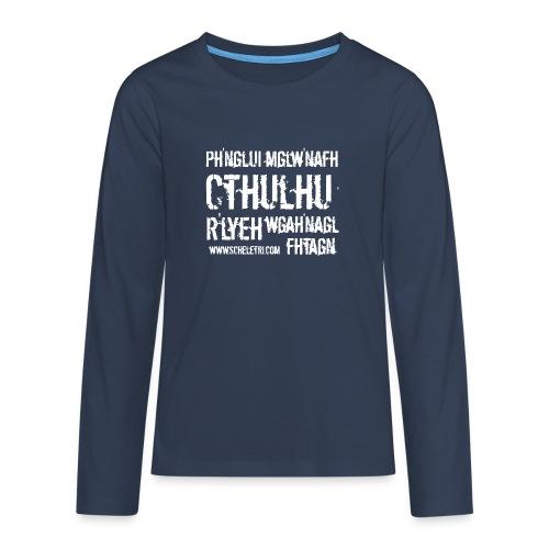 Cthulhu - Maglietta Premium a manica lunga per teenager