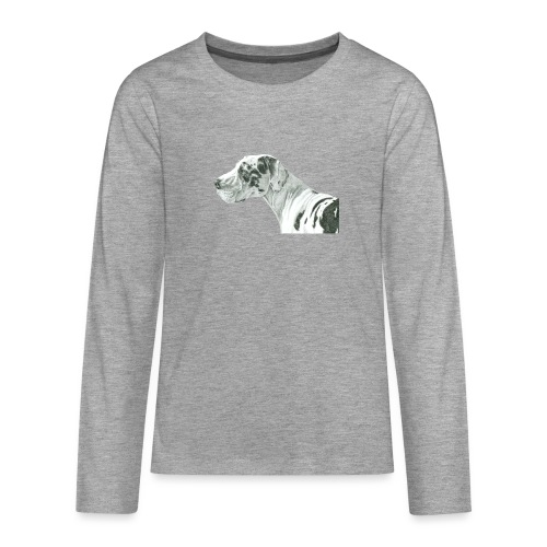 grand danios harlequin - Teenager premium T-shirt med lange ærmer