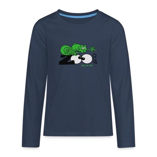 Zooco Chameleon - Teenagers' Premium Longsleeve Shirt