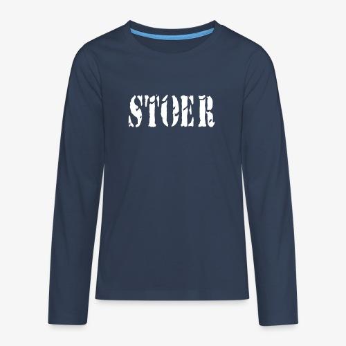 stoer tshirt design patjila - Teenagers' Premium Longsleeve Shirt