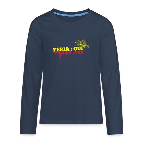 feria - T-shirt manches longues Premium Ado