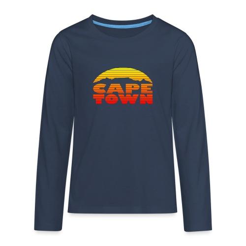 TableMountain-Sunset - Teenager Premium Langarmshirt