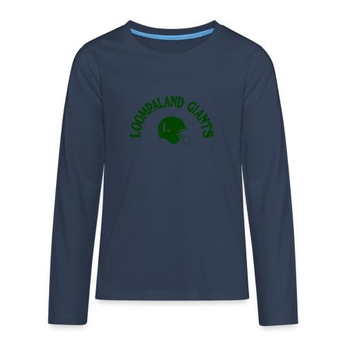 Willy Wonka heeft een team - Teenager Premium shirt met lange mouwen