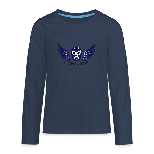 Lucha Libre - T-shirt manches longues Premium Ado