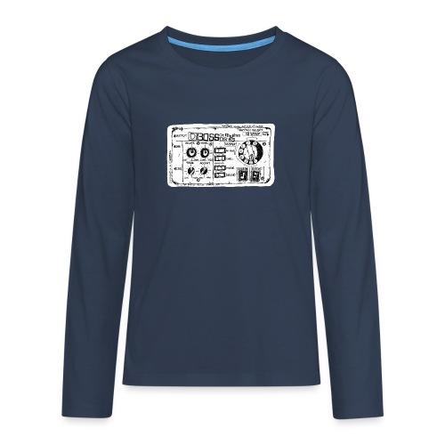 Drum Machine's R Ace! - Teenagers' Premium Longsleeve Shirt