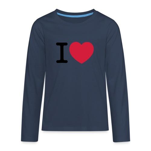 tekening - Teenager Premium shirt met lange mouwen