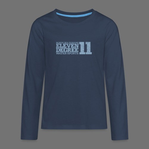 eleven degree light blue (oldstyle) - Teenagers' Premium Longsleeve Shirt