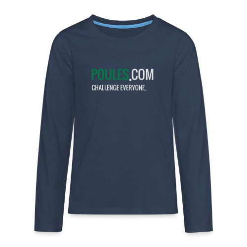 Challenge Everyone - Teenager Premium shirt met lange mouwen
