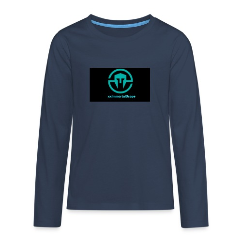 xxImmortalScope throwback - Teenagers' Premium Longsleeve Shirt