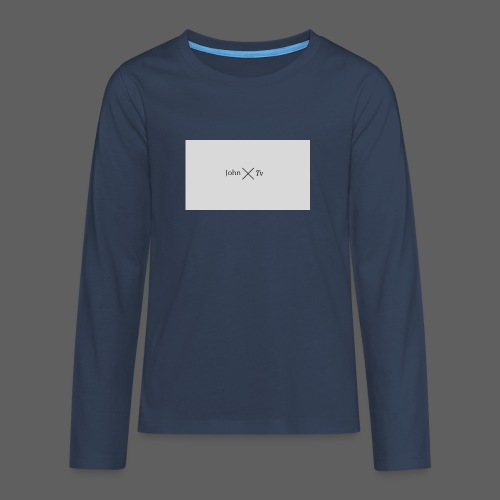 john tv - Teenagers' Premium Longsleeve Shirt