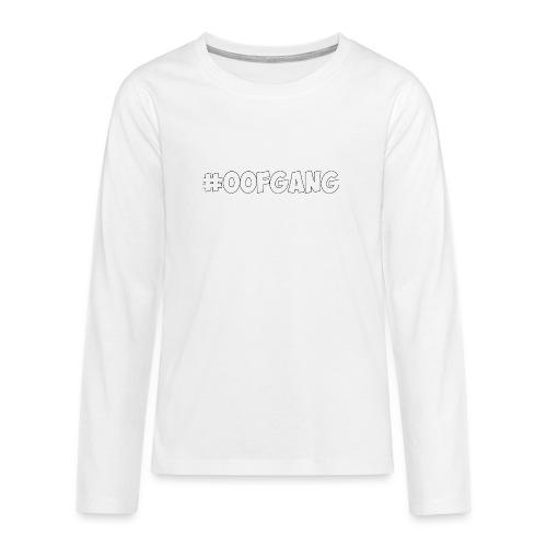 #OOFGANG MERCHANDISE - Teenagers' Premium Longsleeve Shirt