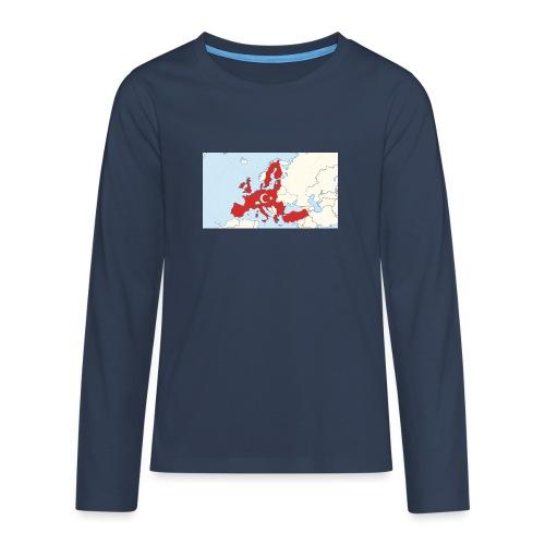 tuerkei - Teenager Premium Langarmshirt
