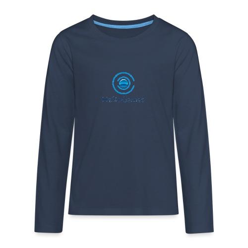 HasloGames Producten officieel logo - Teenager Premium shirt met lange mouwen