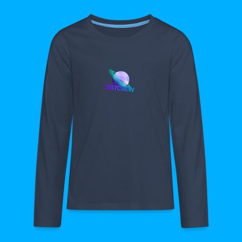 PurpleSaturn T-Shirt Design - Teenagers' Premium Longsleeve Shirt