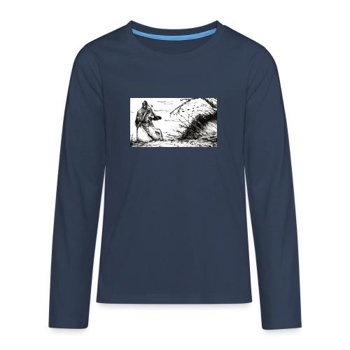 SERIOUS MAN - Maglietta Premium a manica lunga per teenager